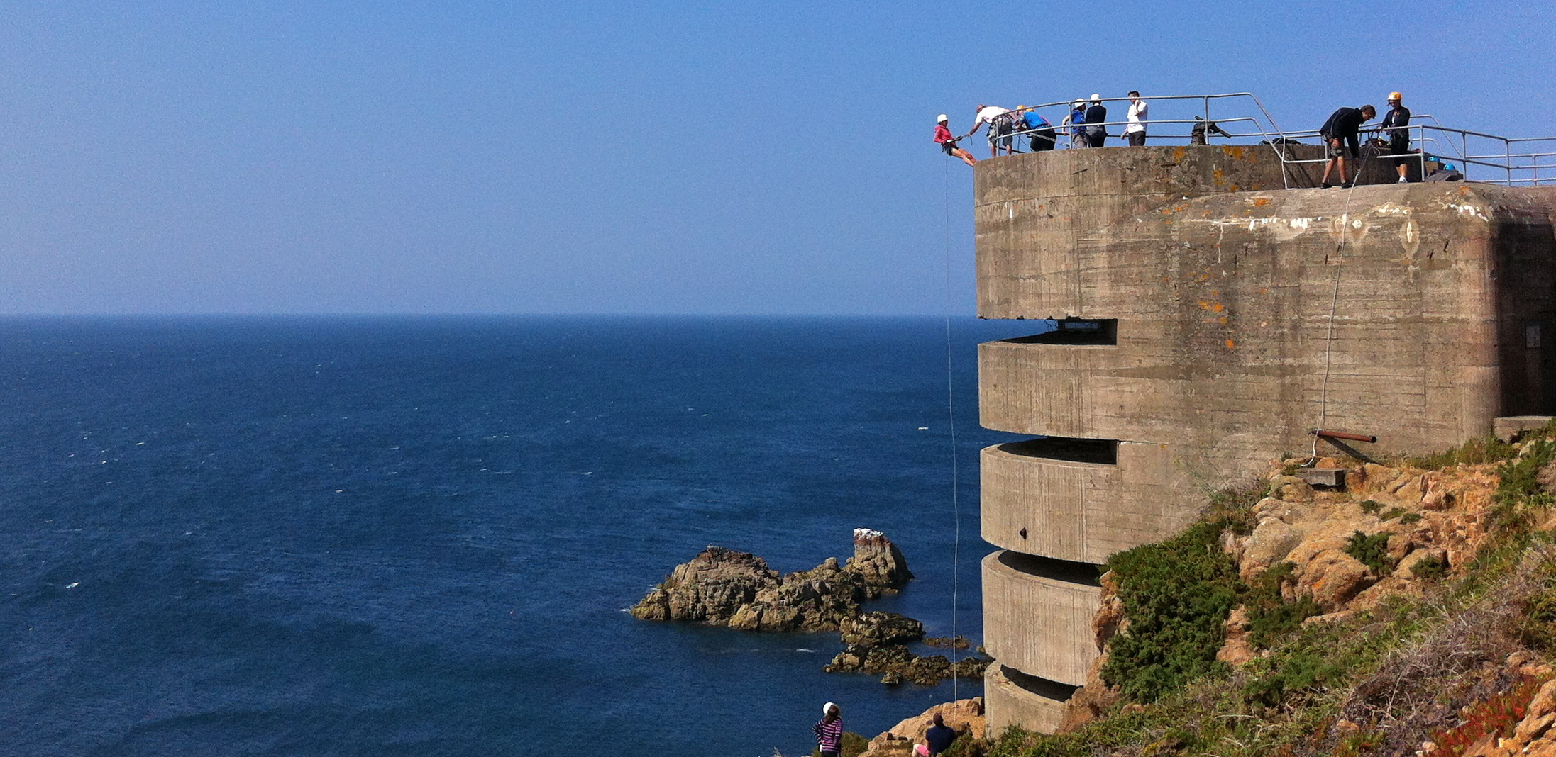 Abseiling Jersey