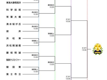 高校選手権大会決勝トーナメント組み合わせ決定!