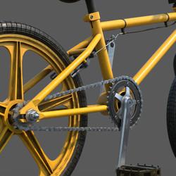 BMX Challenge_Chain Links Close Up