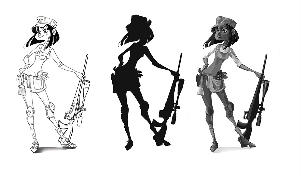 The Sniper_Value Studies