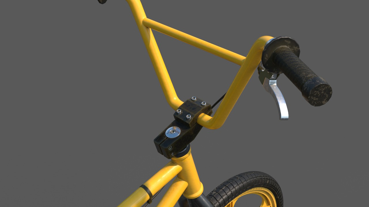 BMX Challenge_Handle Close Up