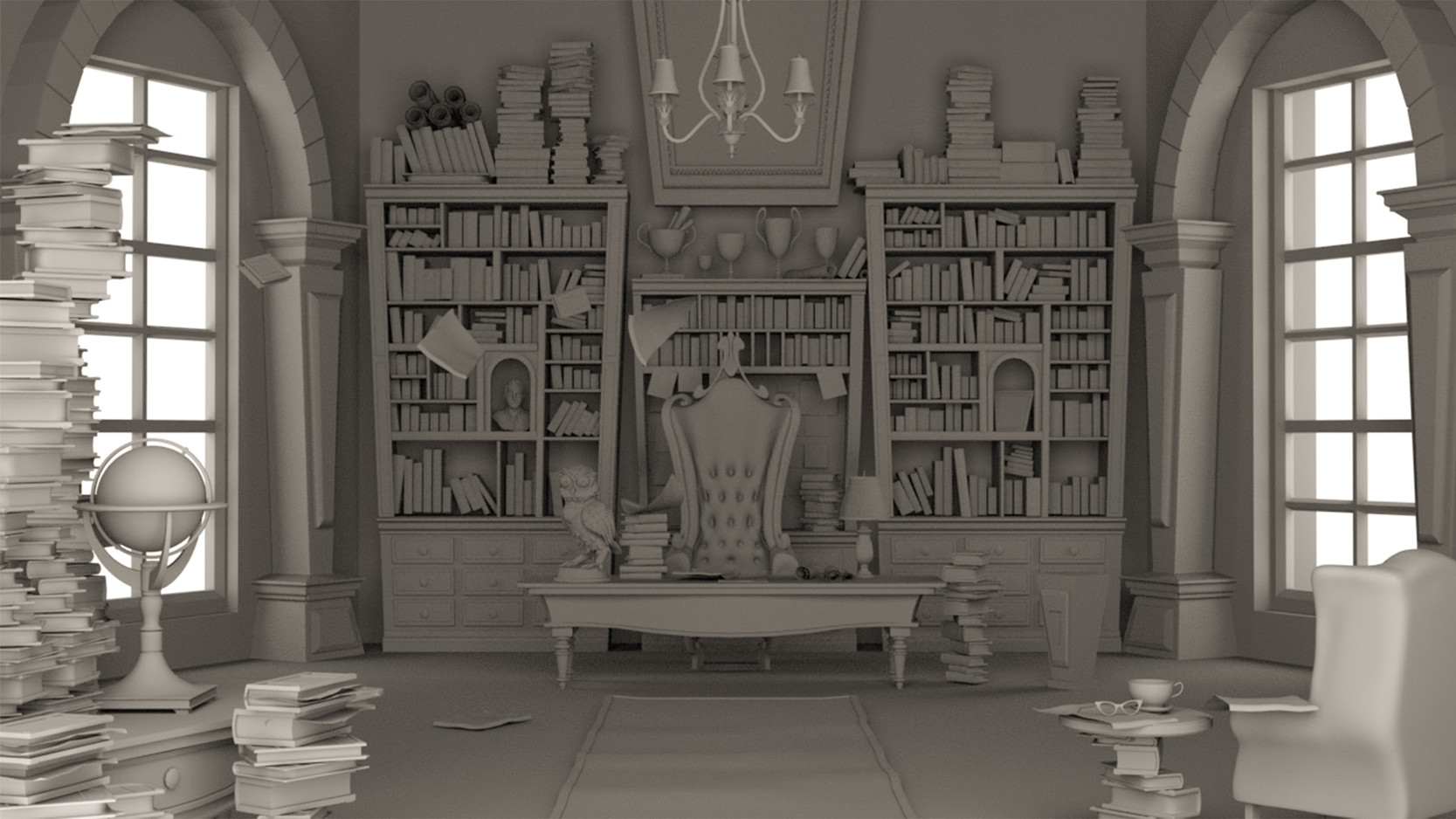 The Librarian Office