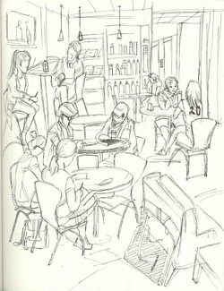 Cafe Drawing_02