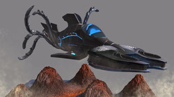 Alien Flying Ship