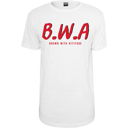 B.W.A WHITE T-SHIRT
