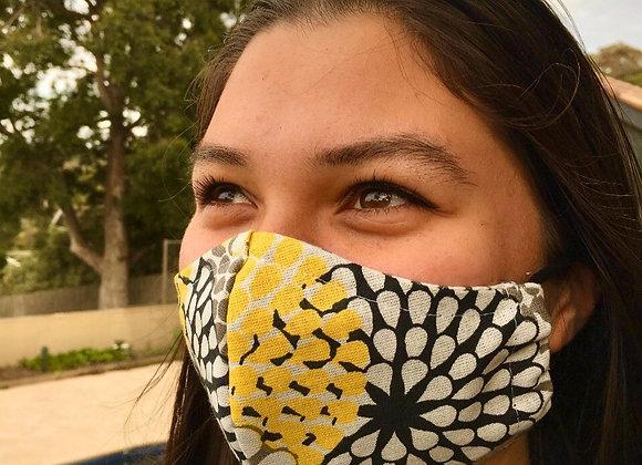 Japanse Kimono Fabric Mask