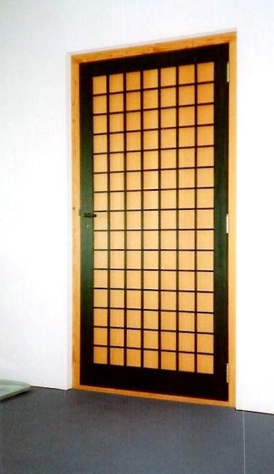 Moderne Japanse binnendeuren