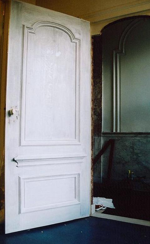 Reconstructie 18e eeuwse deur