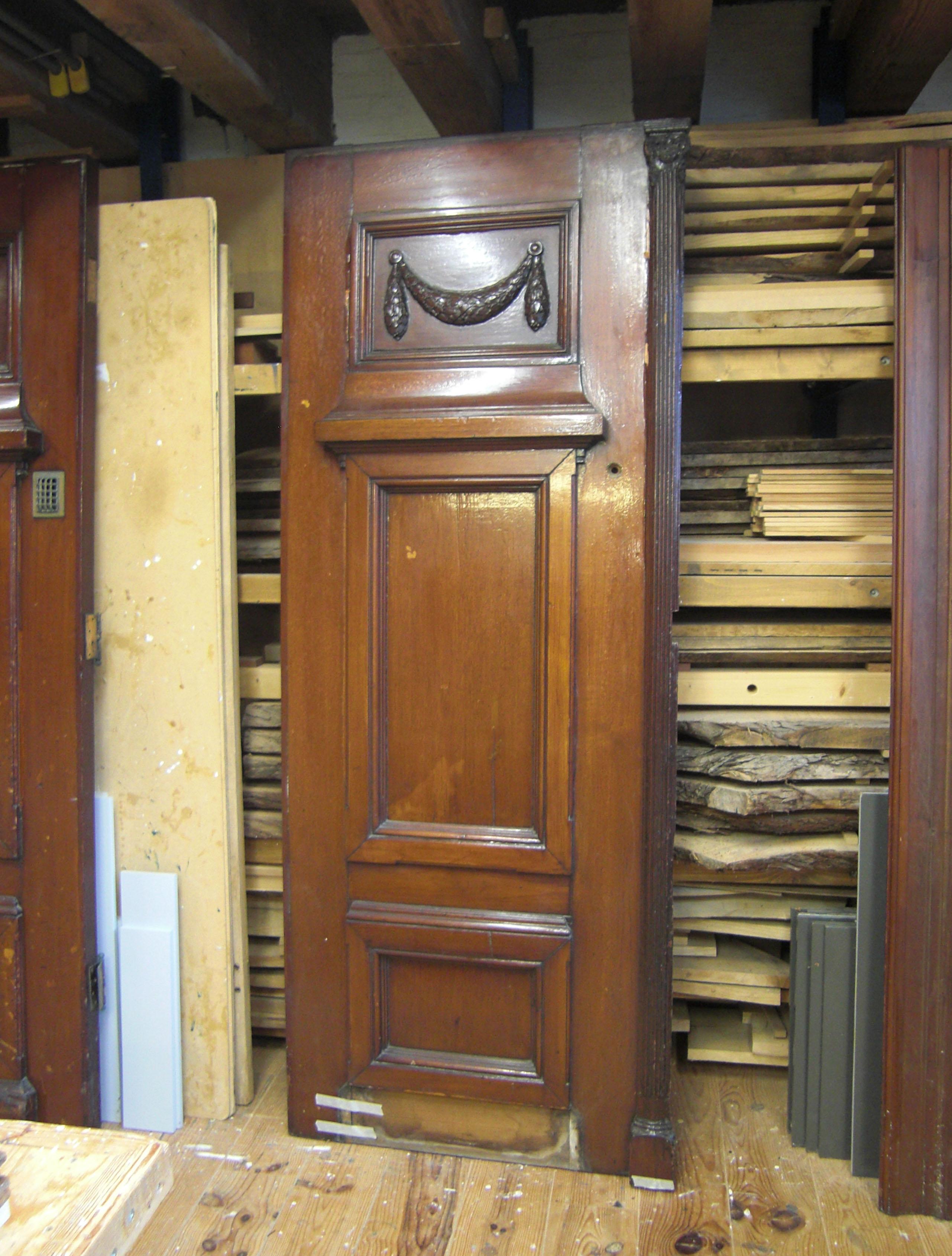 Restauratie teakhouten voordeuren