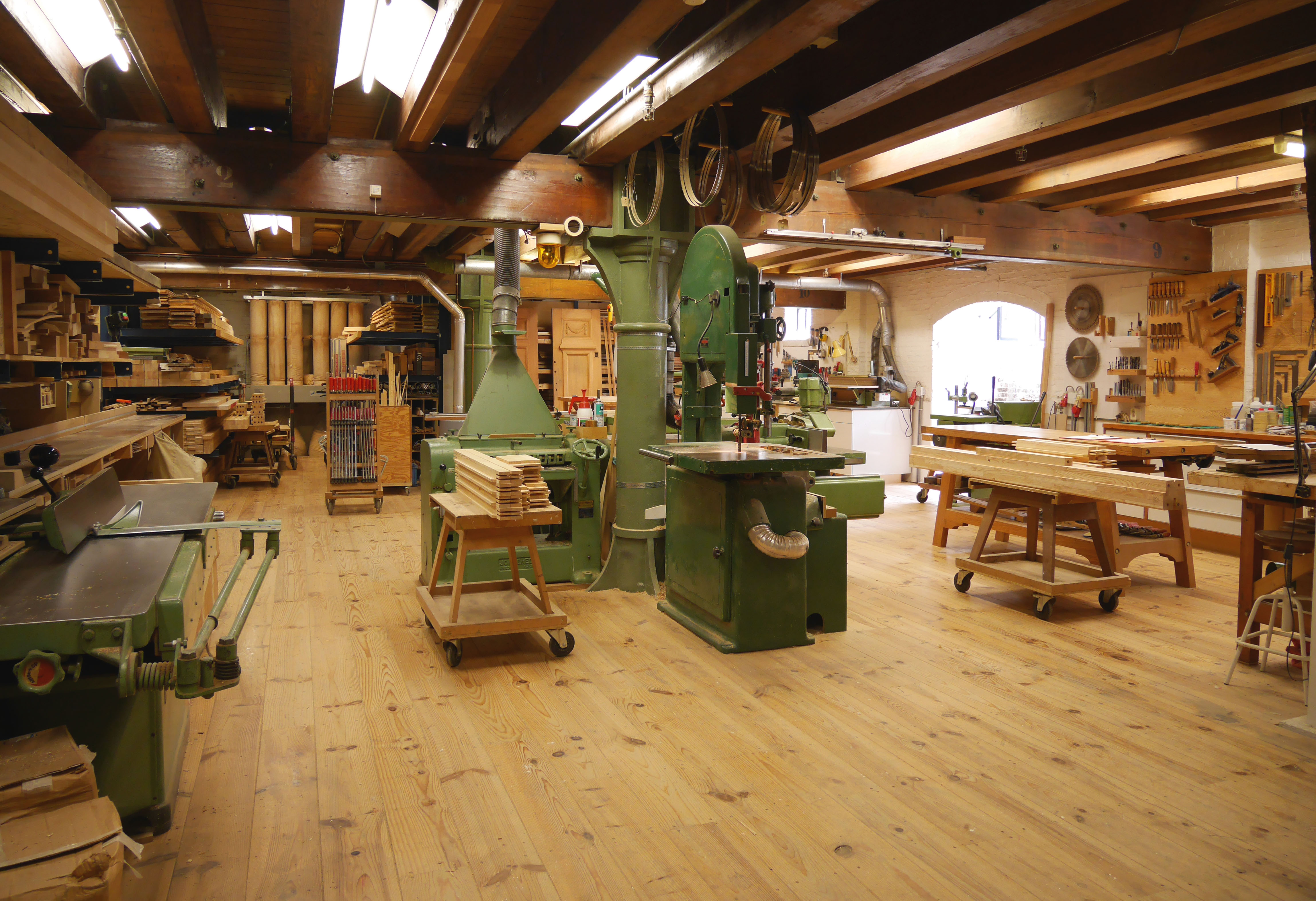 Oostra carpentry workshop