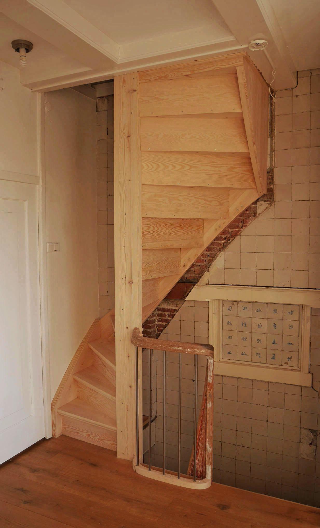 Verbetering steile trap