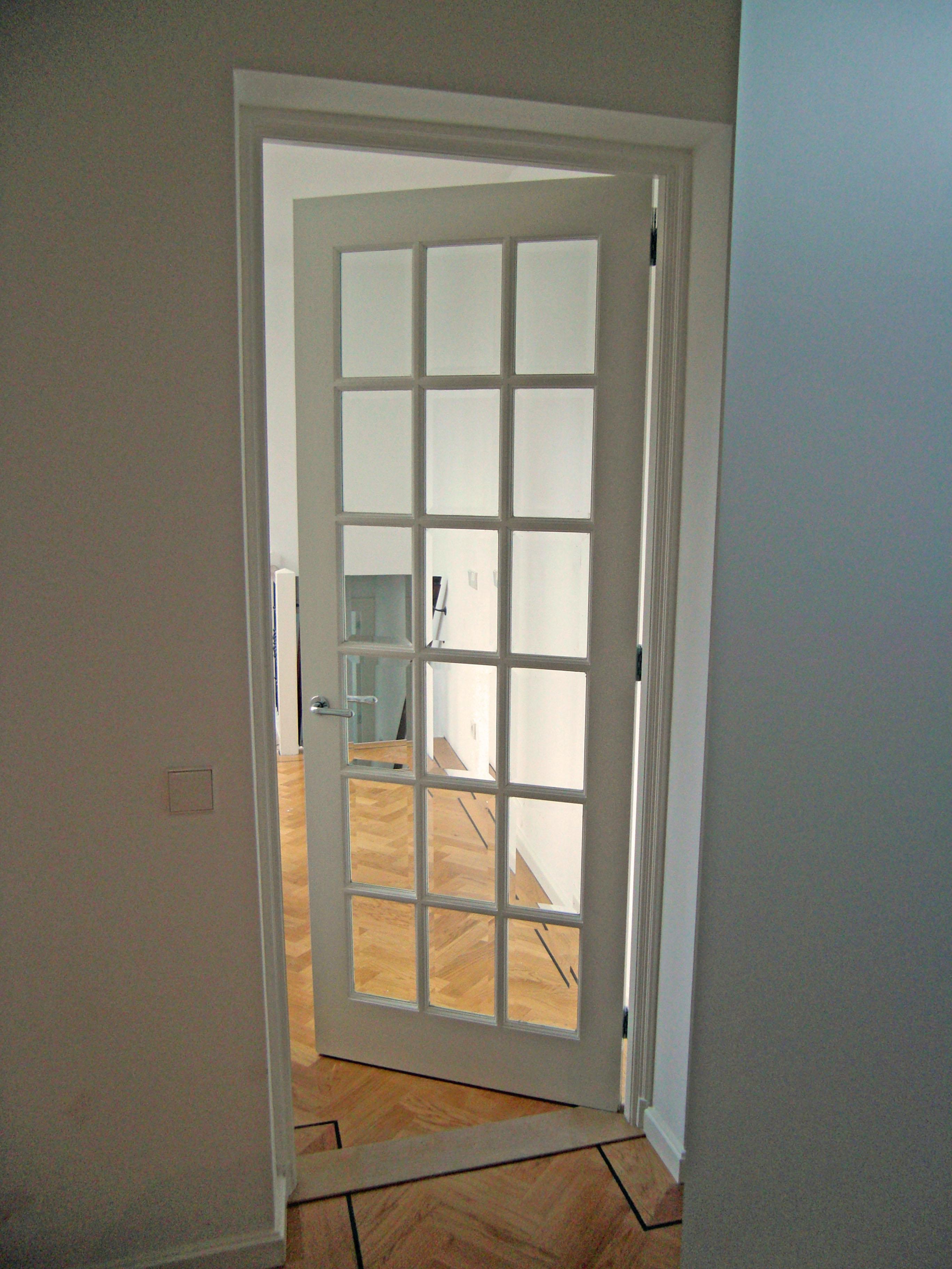 Nieuwe glasdeur