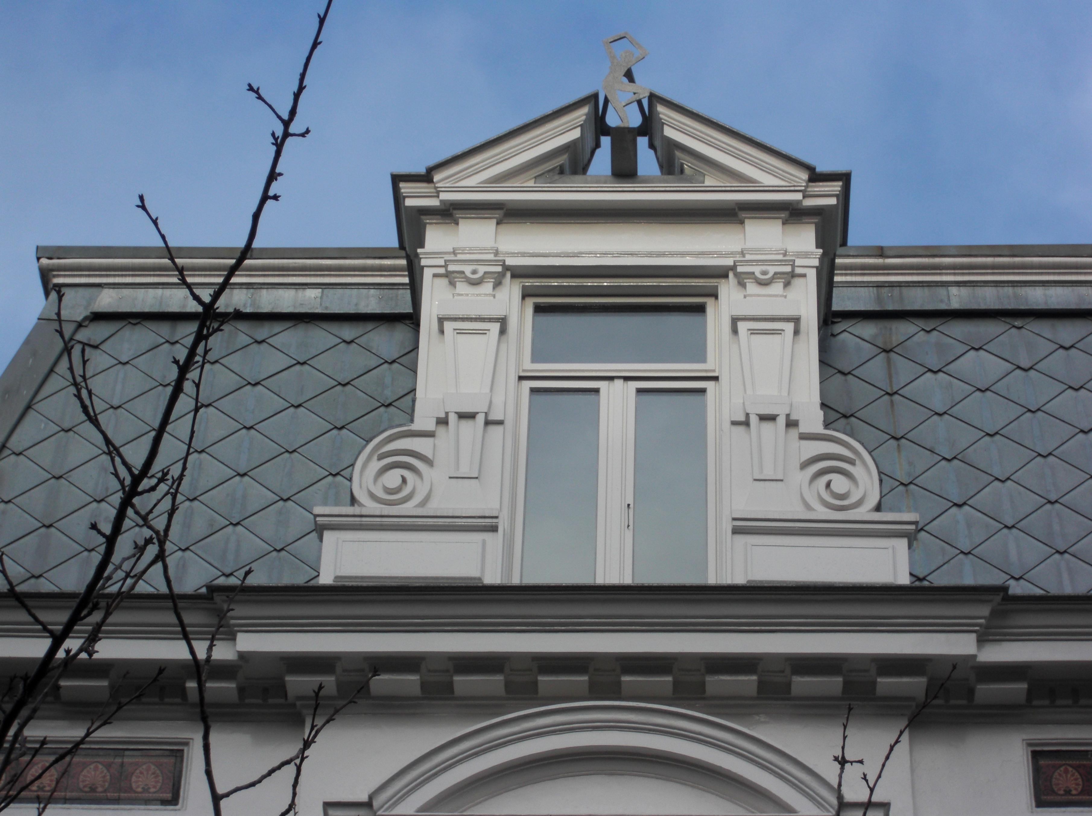 Herstel lijstwerk dakkapel