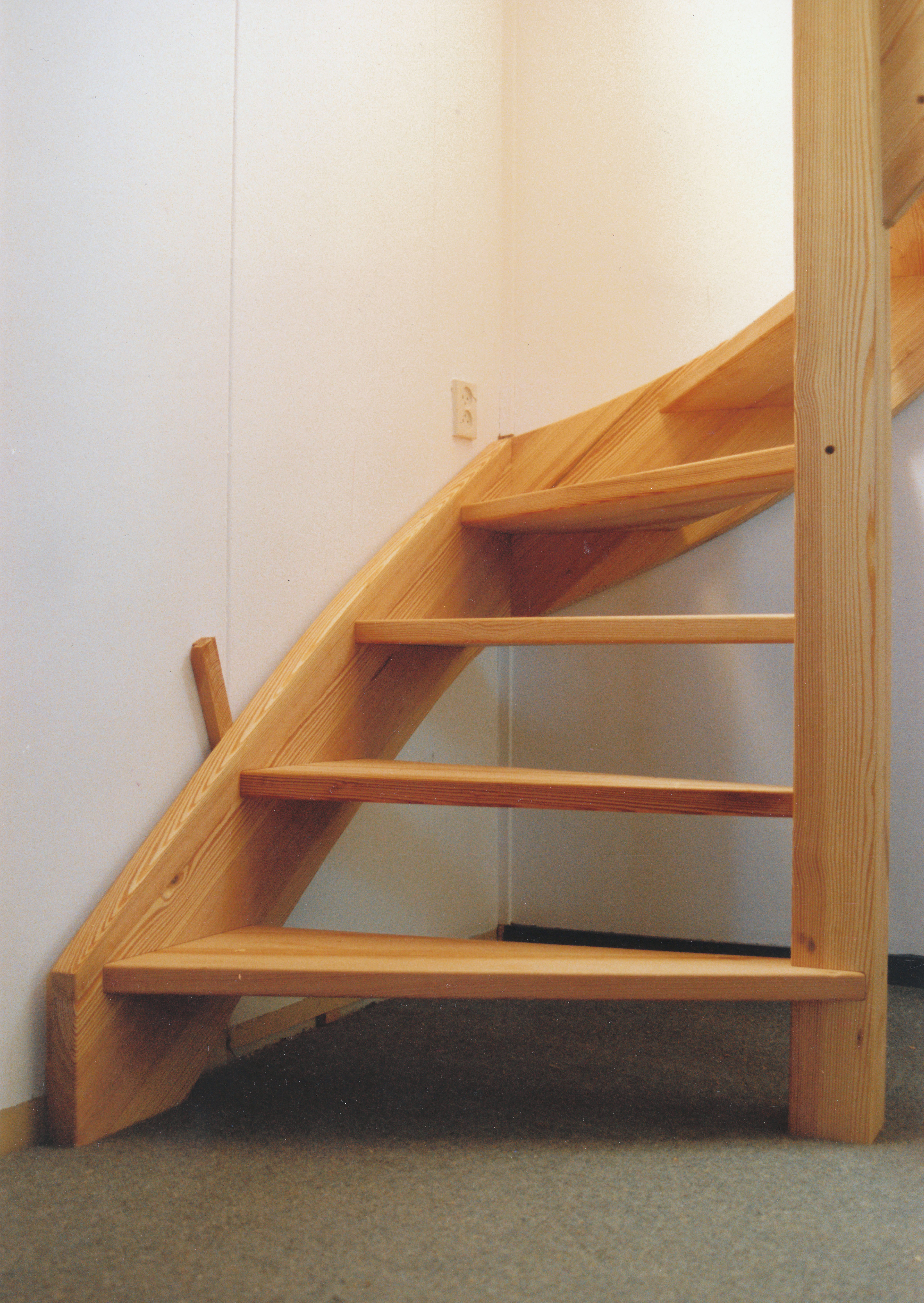 Eenvoudige open trap