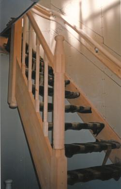 Bijpassende nieuwe trap