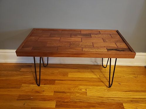 "Wooden ""Tile"" Coffee Table"