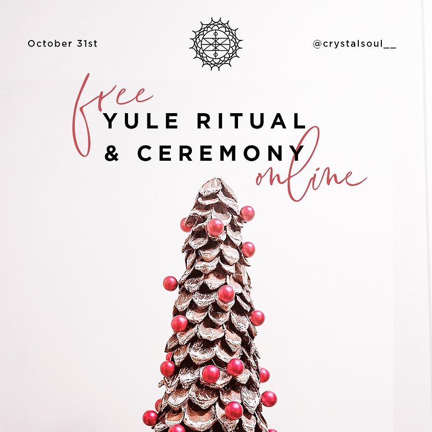 FREE Yule (Winter Solstice ) Ritual & Ceremony