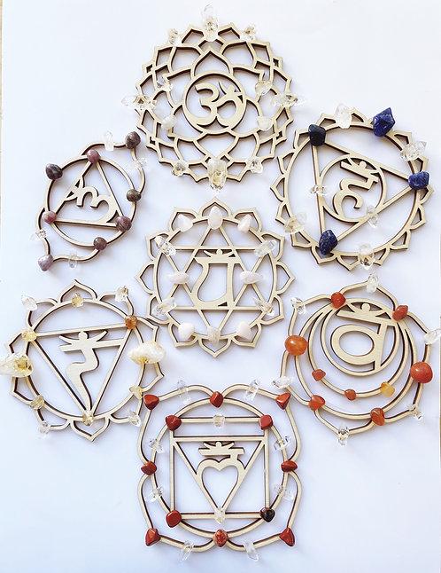 Chakra Healing Grids Set