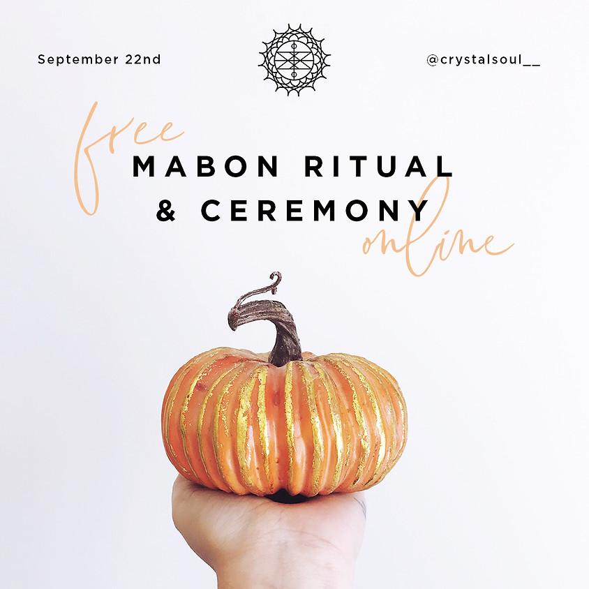 FREE Mabon (Autumn Equinox) Ritual & Ceremony