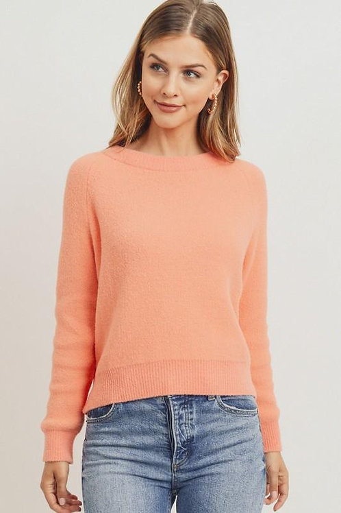 PeachPlush Sweater