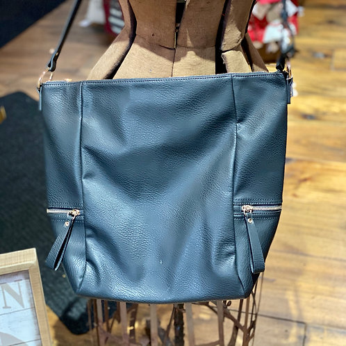 Soft Vegan Leather Hobo Bag