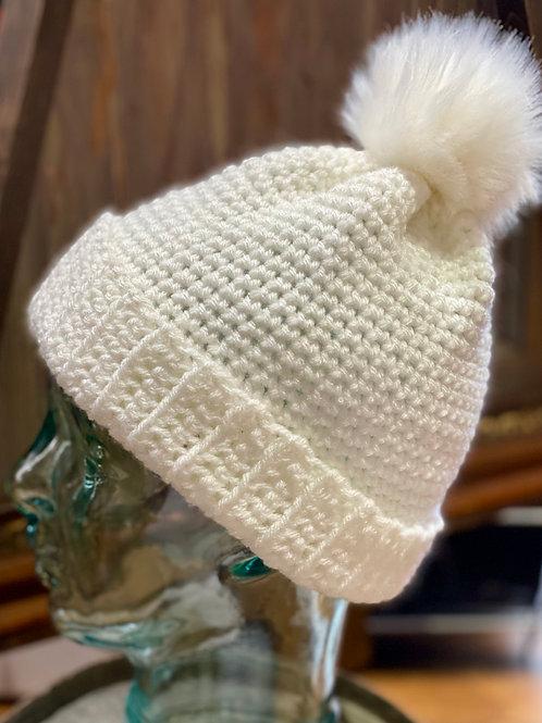 Grandma O's Crocheted Beanie