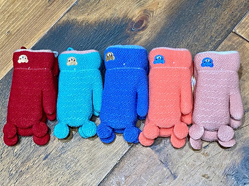 Toddler's Bear Mittens