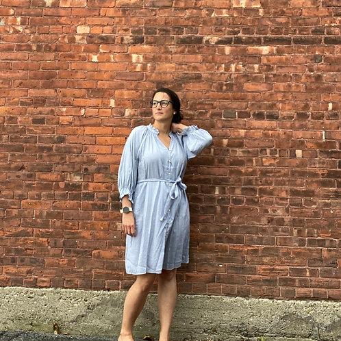 Plaid ButtonDown Mini Dress