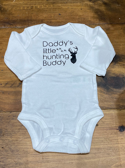 Hunting Buddy Onesie