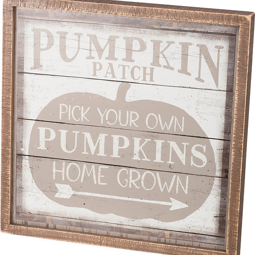 Pick Your Own Wooden Sign
