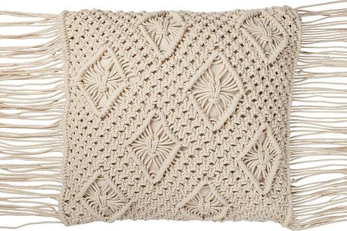 Pillow - Macrame Diamond