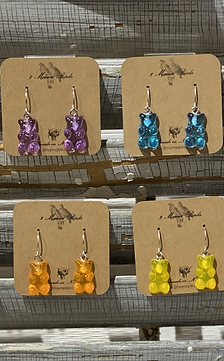 Gummie Bear Earrings