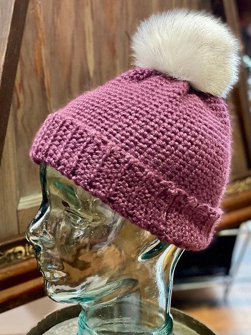 Grandma O's Crocheted Alpaca Hat