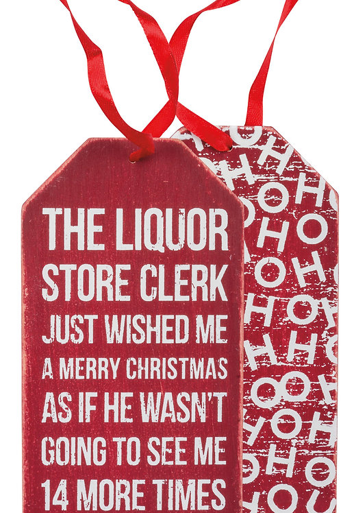 Holiday Bottle Tags