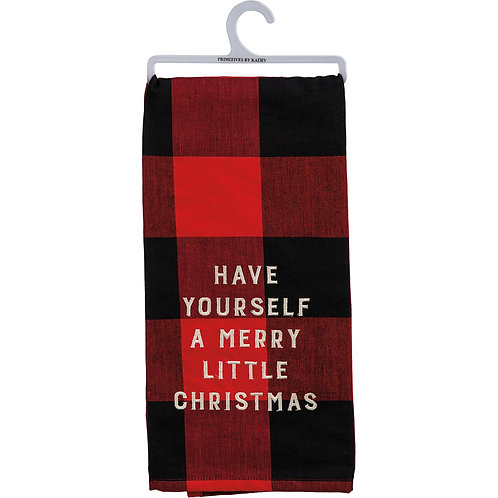 Buffalo Plaid Dish Towel
