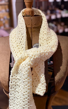 Grandma O's Crocheted Scarves
