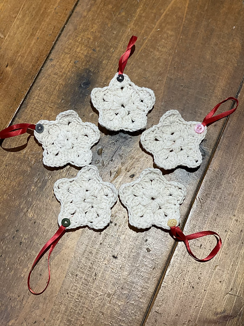 Grandma O's Crocheted Ornaments