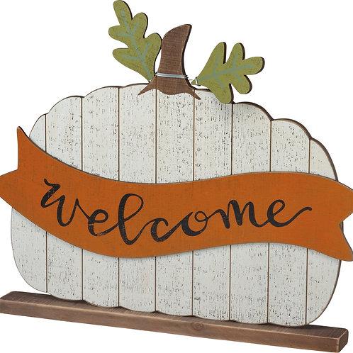 Welcome Pumpkin Sitter