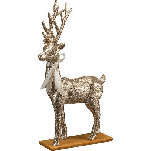 Champagne Glitter Deer