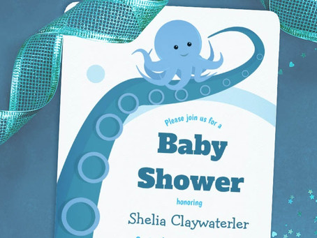 Octopus Baby Shower Theme