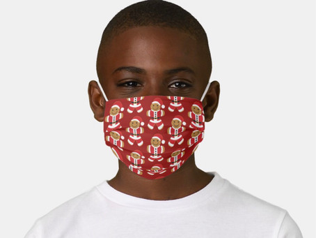 Christmas Face Masks for Kids and Kids at Heart