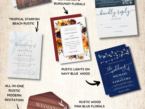 The Right Rustic Wedding Invitation for Your Wedding