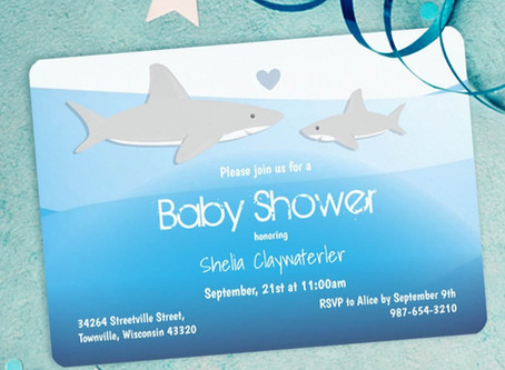 Have a Shark Baby Shower