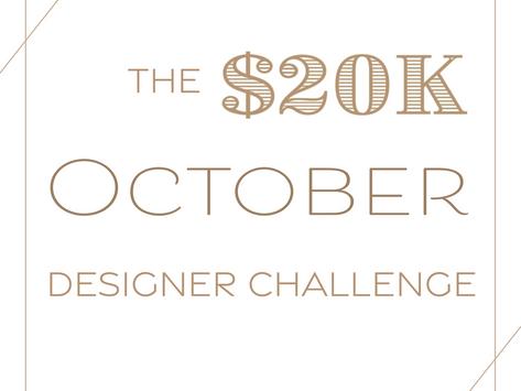 Holidayday Design joins the $20k October Designer Challenge
