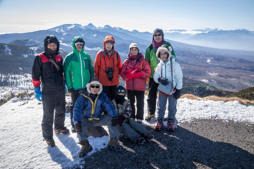 2019.02.22~24「北八ヶ岳」