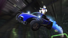 """Soccar Sensation 'Rocket League' Features 'Ghostbusters' in Halloween """"Haunted Hallows"""" Event"""