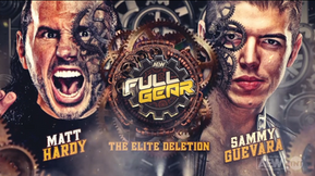 "Cinematic ""Elite Deletion"" Match Announced for AEW 'Full Gear' on November 7"
