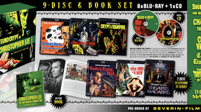 "Severin Films Offering Mammoth ""Eurocrypt of Christopher Lee"" Box Set"