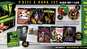 """Severin Films Offering Mammoth """"Eurocrypt of Christopher Lee"""" Box Set"""