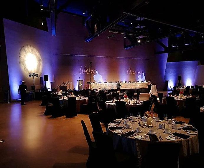 Human right museum wedding #wedding _cmh